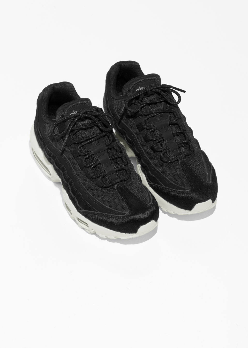 Back image of Stories nike  air max 95 lx in black
