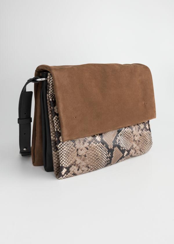 7337d0c7bb Large Leather Crossbody Bag ...
