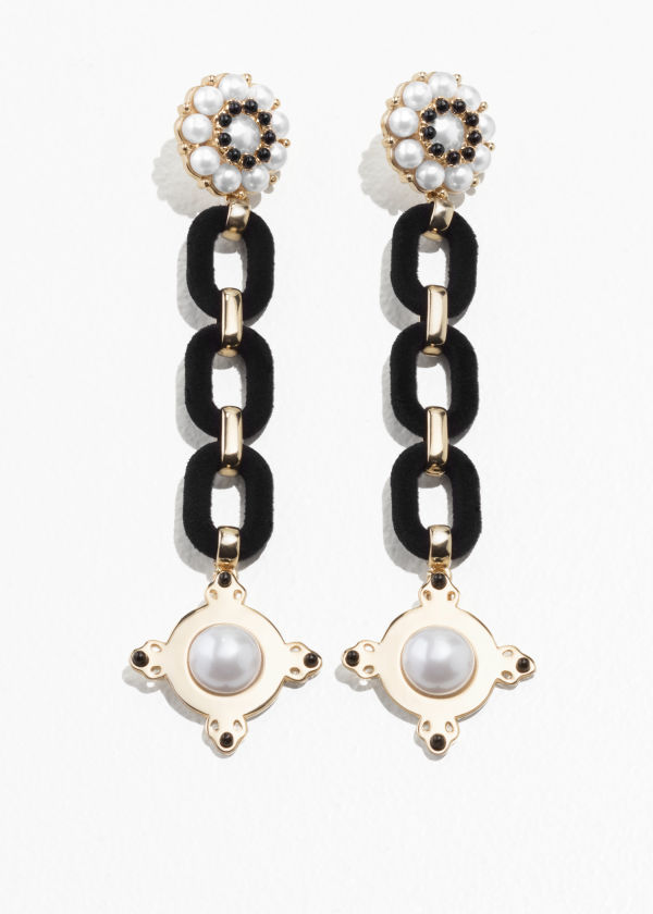 Statement Chain Earrings