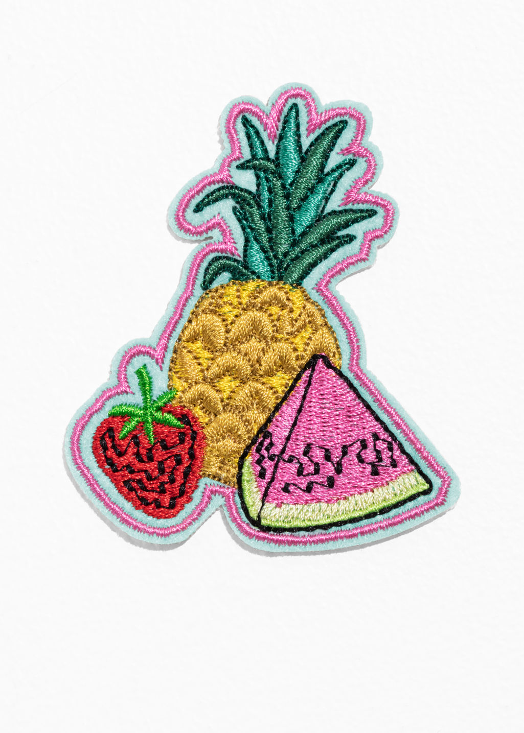 Front image of Stories fruit salad fruit in yellow