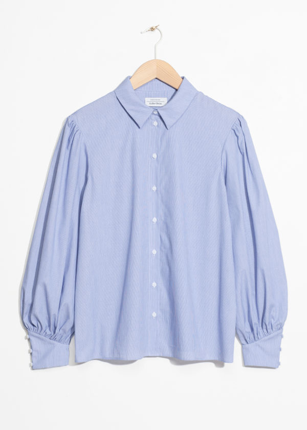 Voluminous Sleeves Blouse