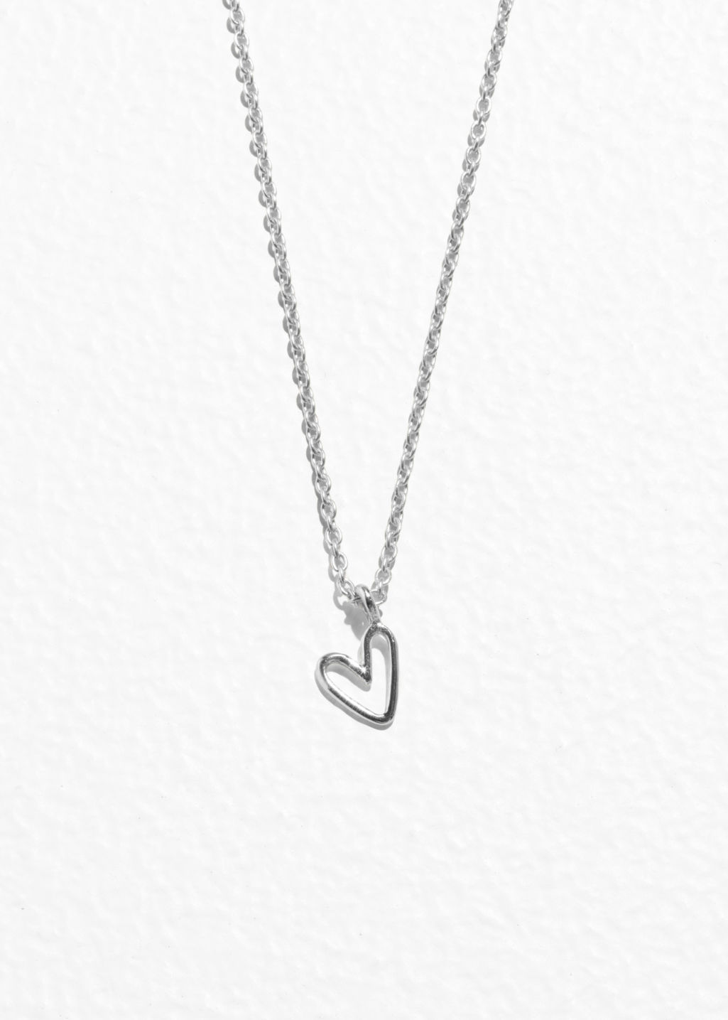 Sterling silver heart pendant necklace sterling silver necklaces front image of stories heart pendant necklace in silver mozeypictures Gallery