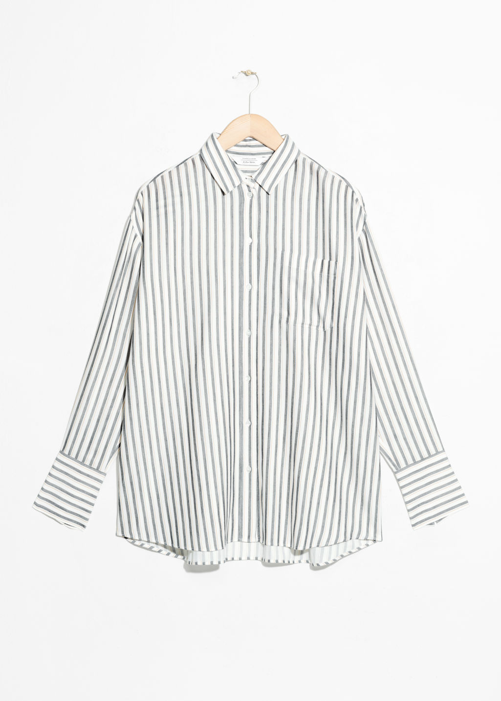 85d5336da Oversized Button Up Shirt - White - Shirts - & Other Stories