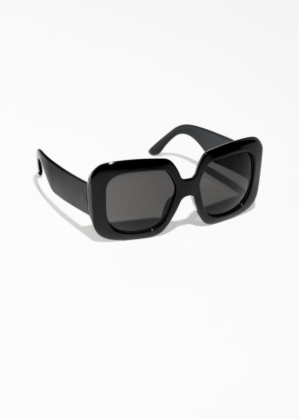 Wide Square Sunglasses