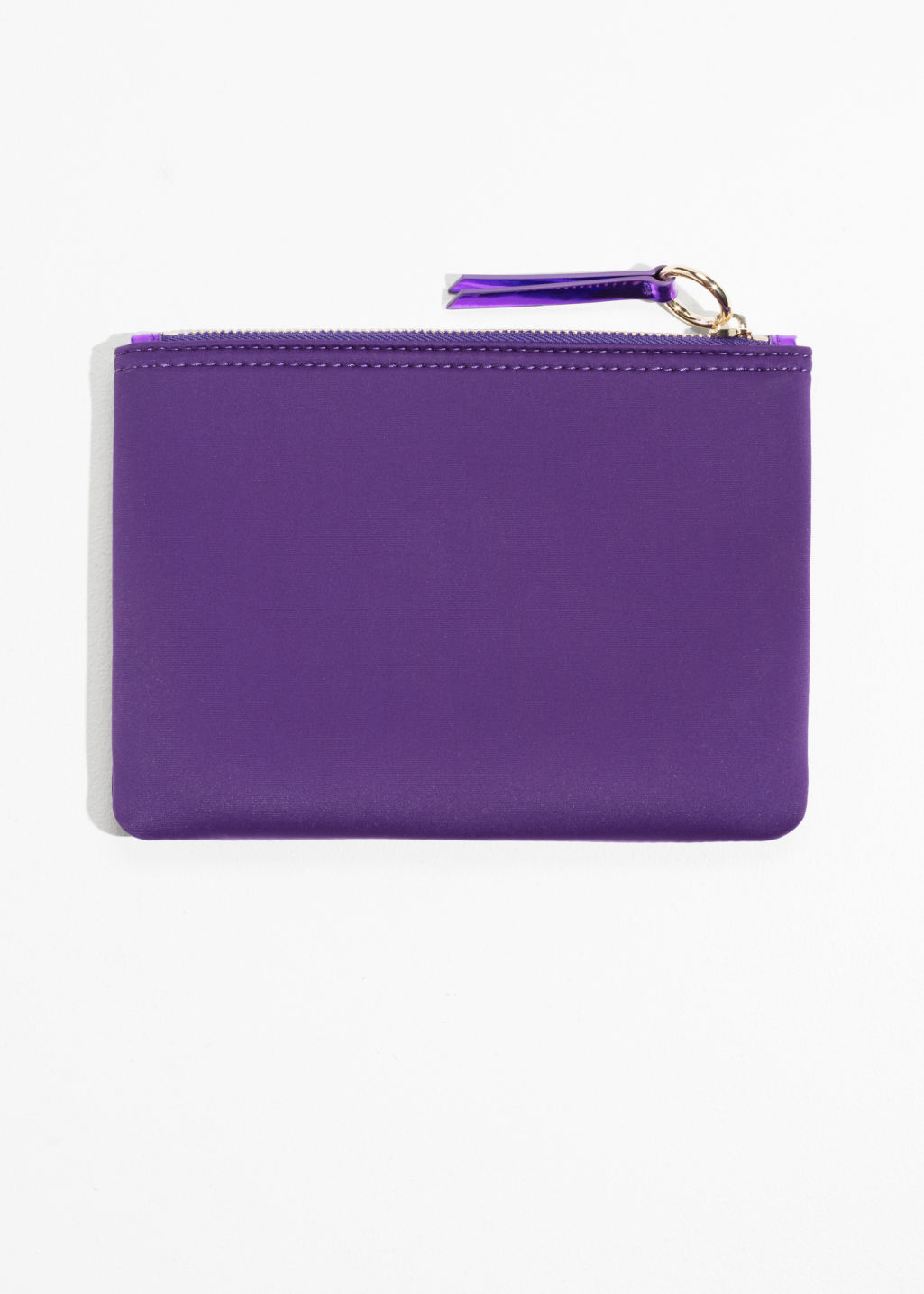 Back image of Stories purse  in purple