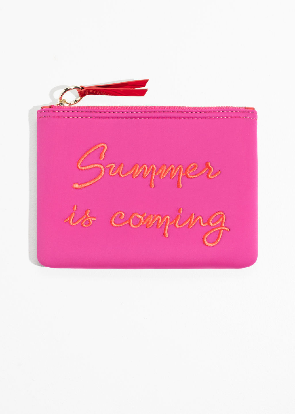 Front image of Stories purse  in pink
