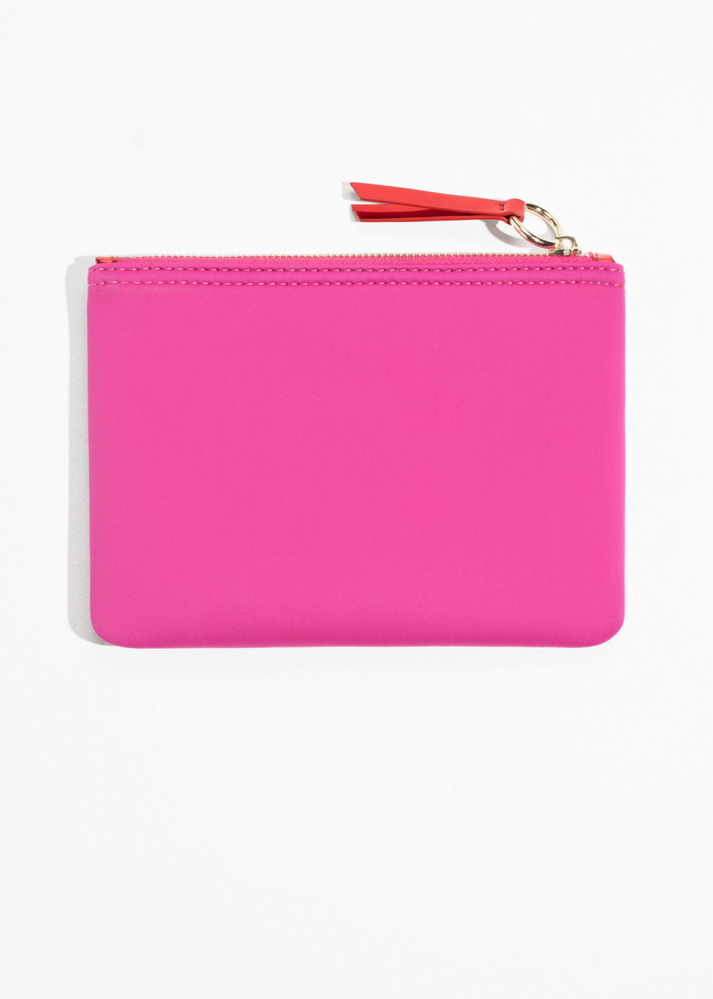 Back image of Stories purse  in pink
