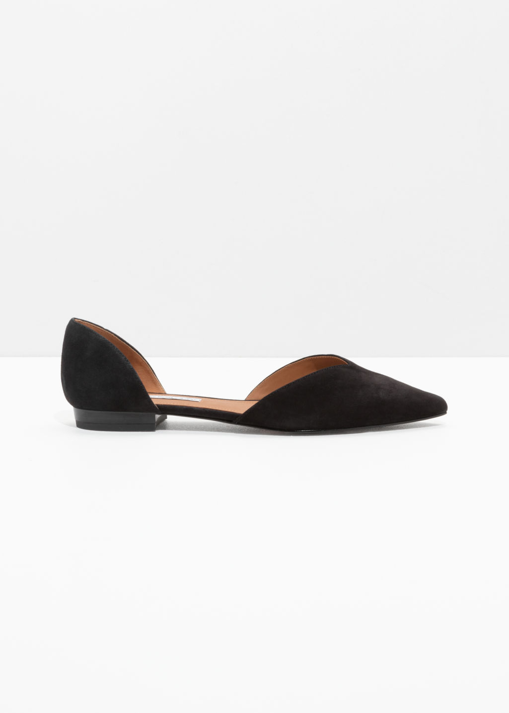 & OTHER STORIES Pointy Ballet Flats l1Bg2Dh2