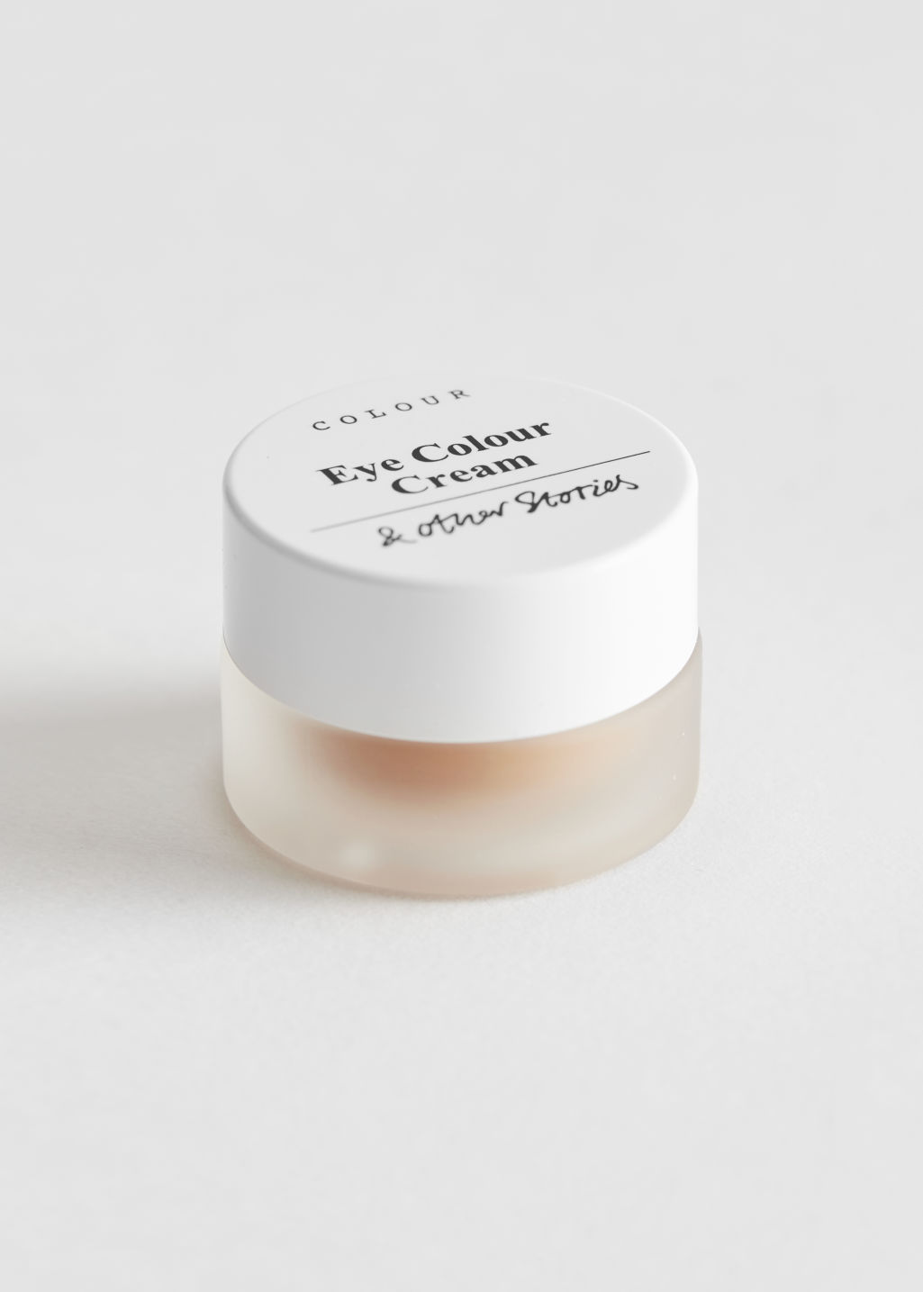 Front image of Stories eye colour cream in orange