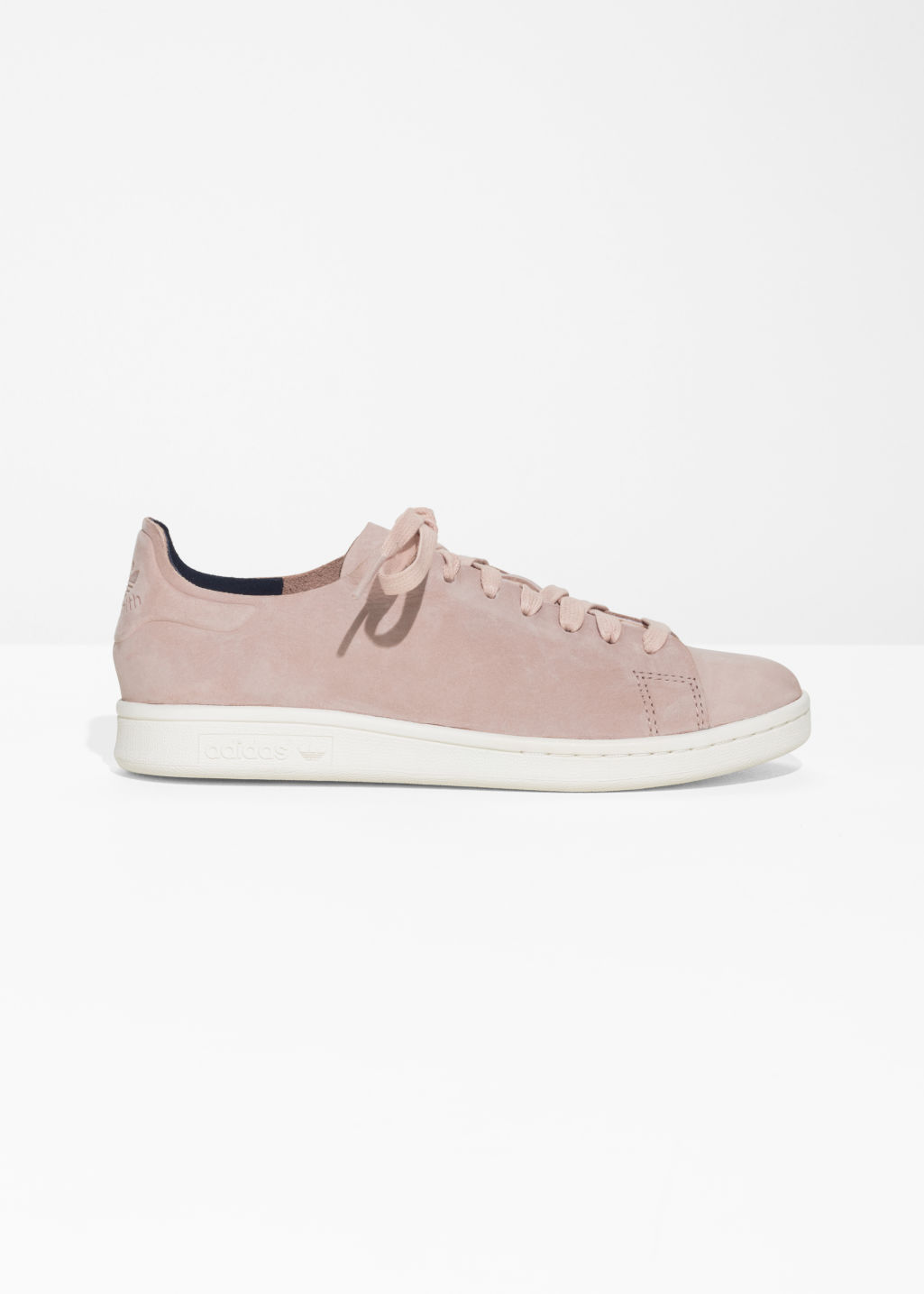 Front image of Stories stan smith nuud sneakers  in pink