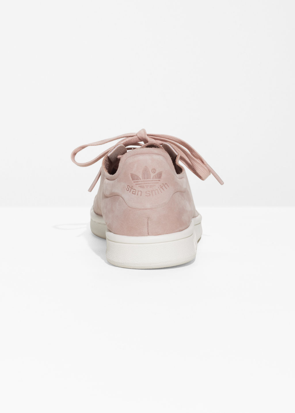 Back image of Stories stan smith nuud sneakers  in pink