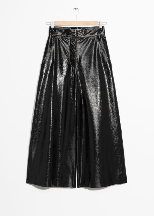 Patent Leather Culottes