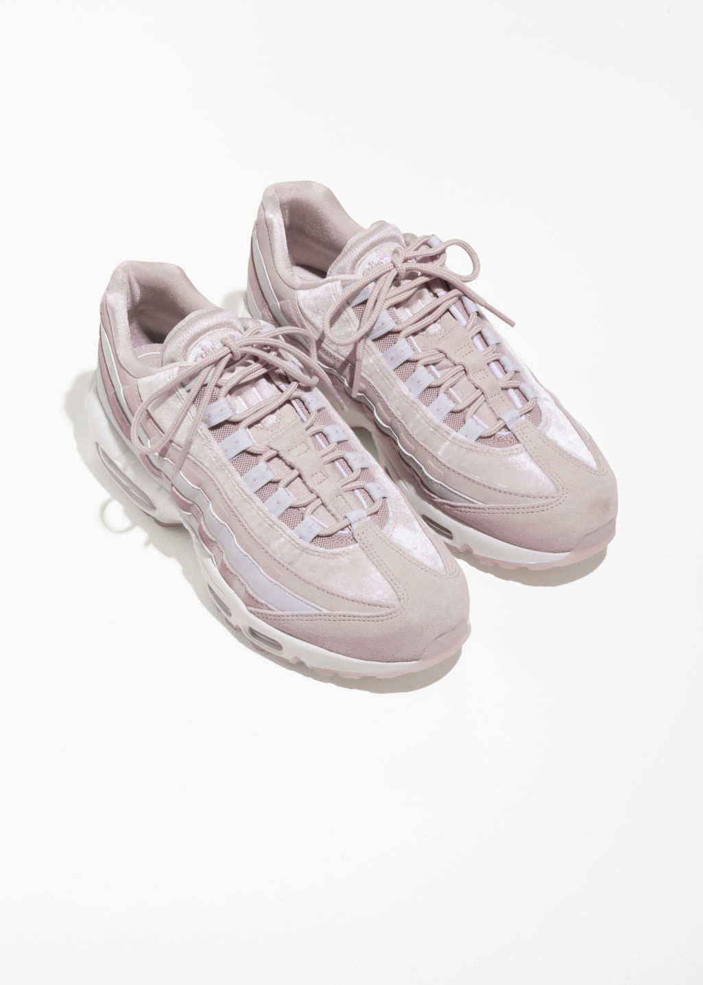 Back image of Stories nike air max 95 lx in pink