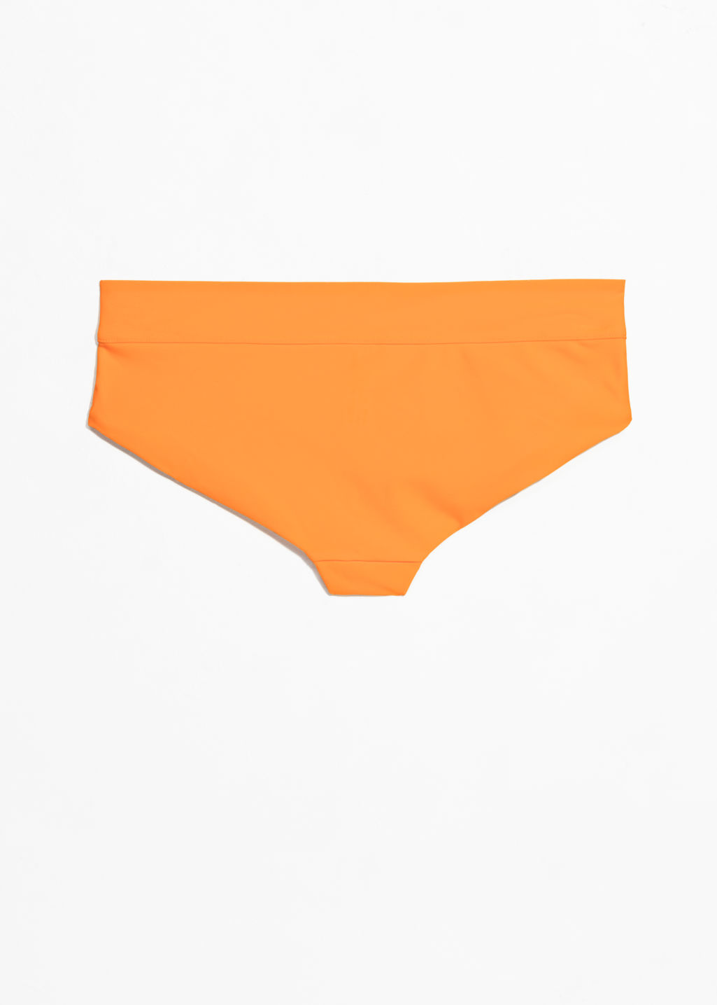 Back image of Stories bikini briefs  in orange