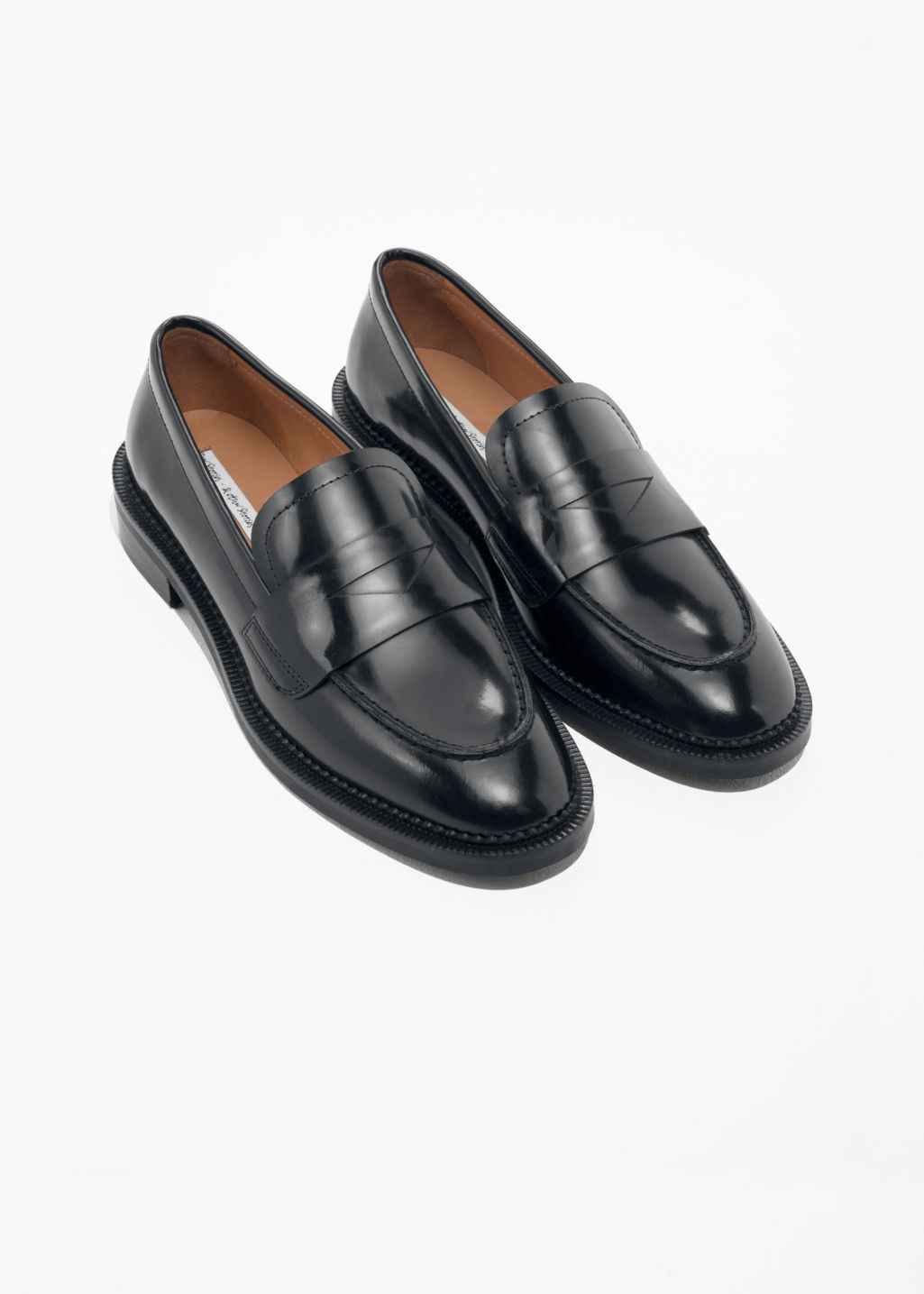 & OTHER STORIES Round Toe Loafer X0QUfhU