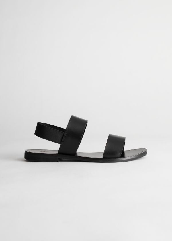 & OTHER STORIES Studded Square Sandals zANgSX