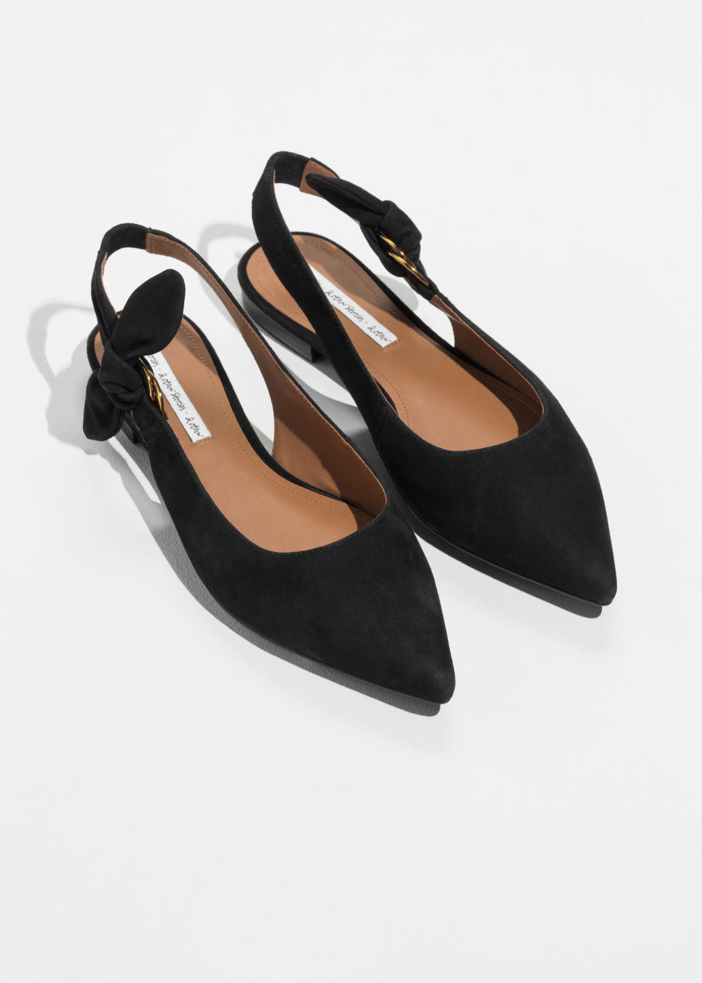& OTHER STORIES Pointed Duo D-Ring Slingbacks With Paypal Cheap Price rX6Mj9