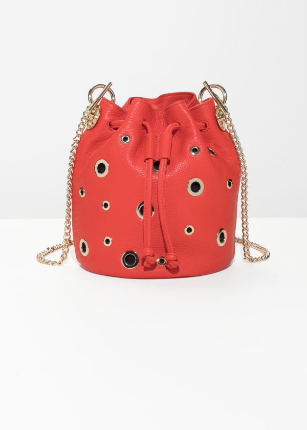 Grommet Bucket Bag