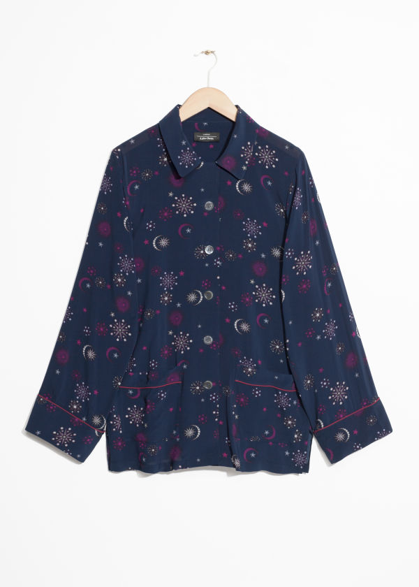 Lounge Jacquard Shirt