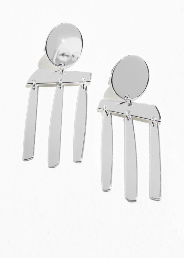 Abstract Hanging Earrings