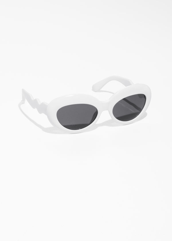 Round Squiggle Sunglasses