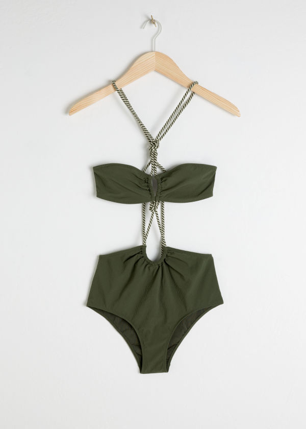 Open Twisted Rope Swimsuit
