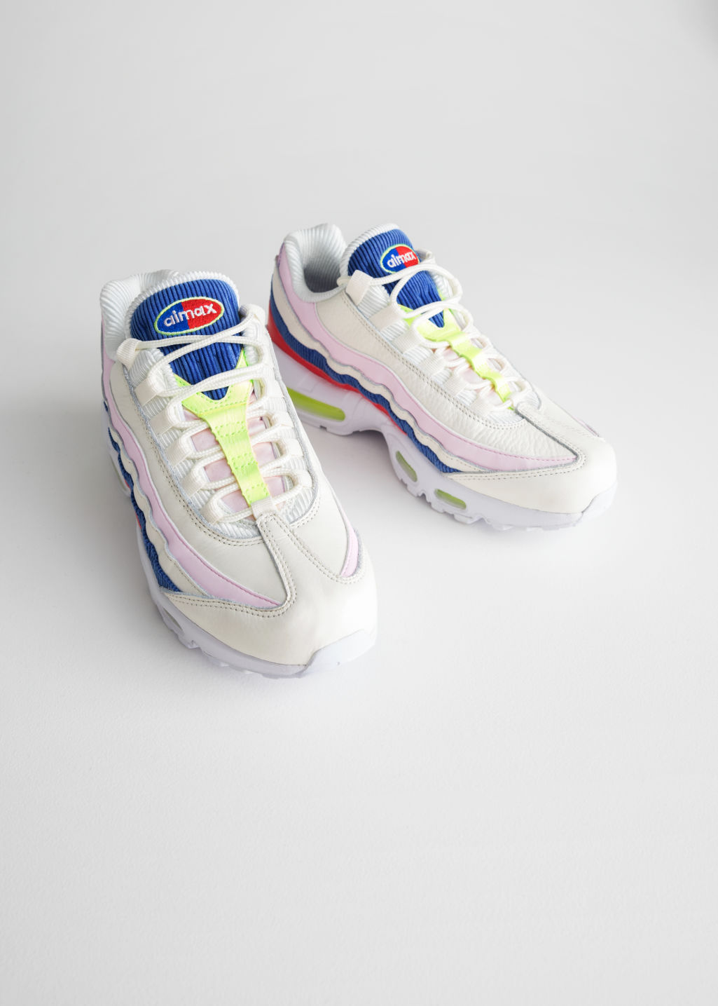 Back image of Stories nike air max 95 se in white