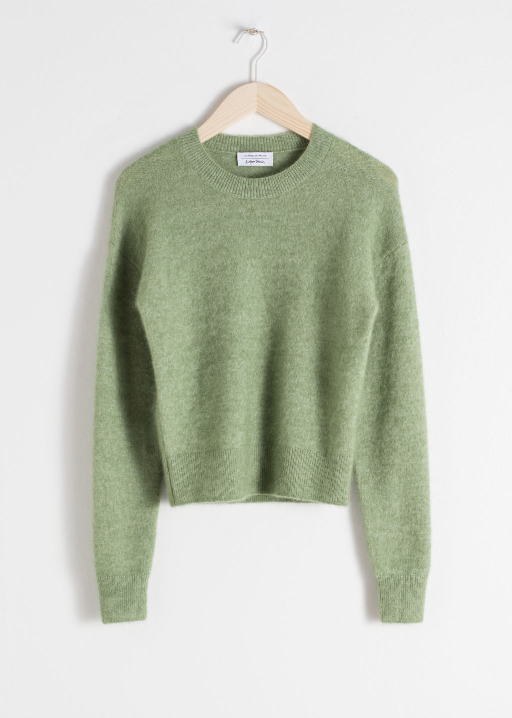 Fuzzy Sweater Pistachio Sweaters Other Stories