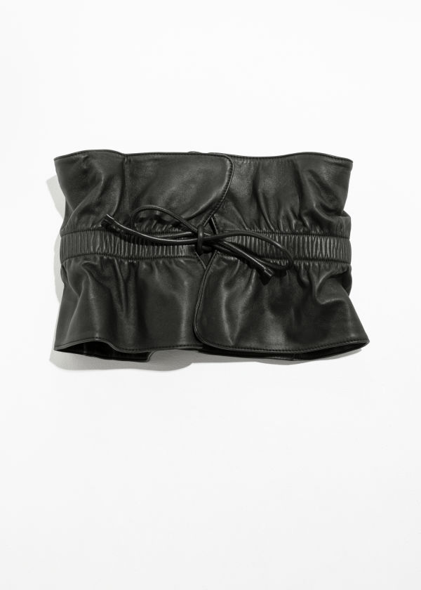 Paperwaist Leather Belt