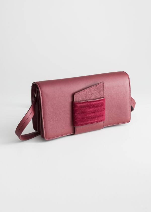 Leather Pull Through Crossbody