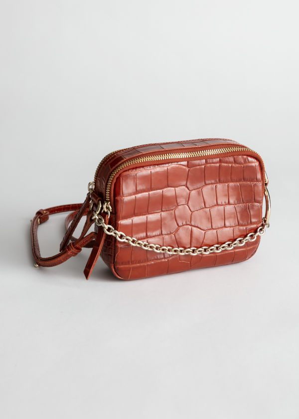 Croc O-Ring Chain Crossbody Bag ... 1c458255ddf9c