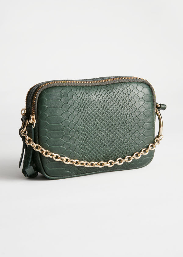 O-Ring Chain Crossbody Bag