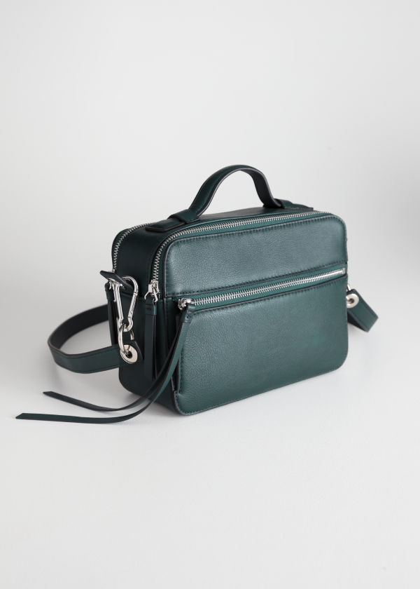 Duo Zipper Crossbody Bag