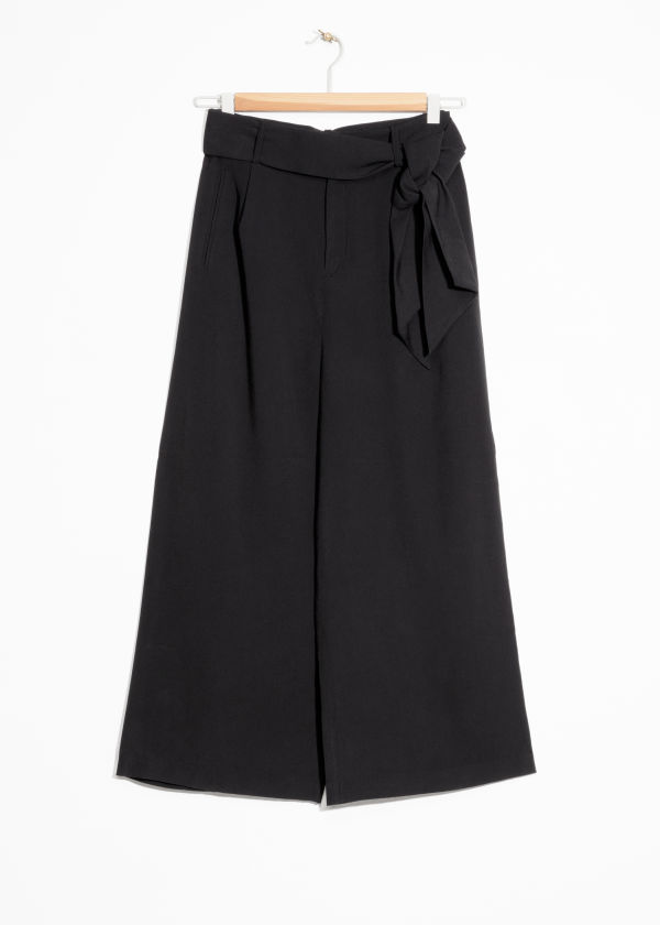 Side Tie Culottes