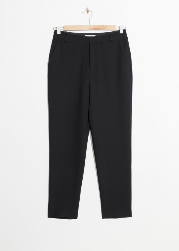 Slim Fit Tailored Pants