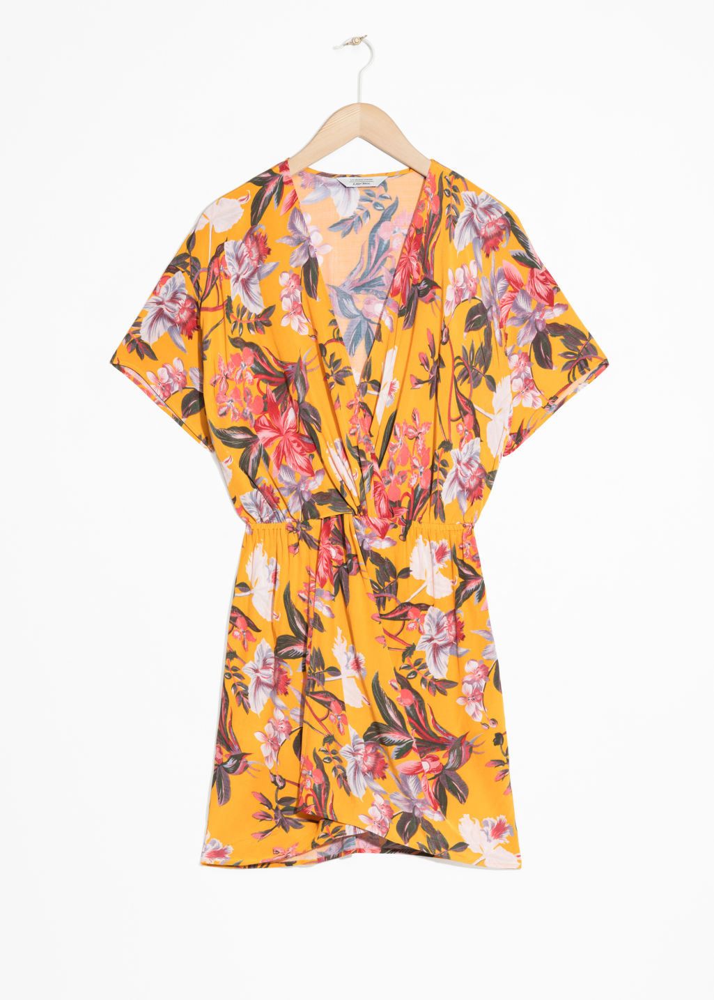Printed Twist Knot Dress
