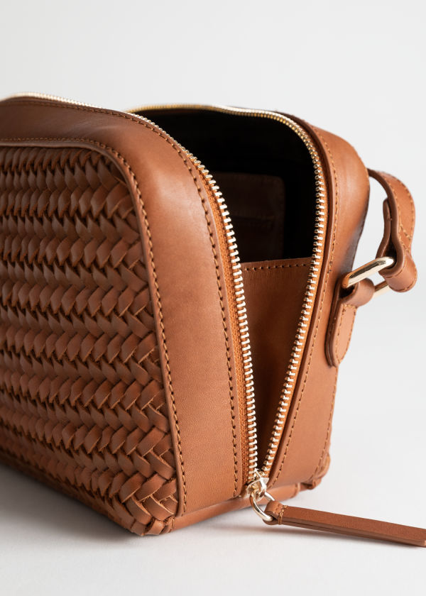 9f89b1c332fd Basket Weave Crossbody Bag ...