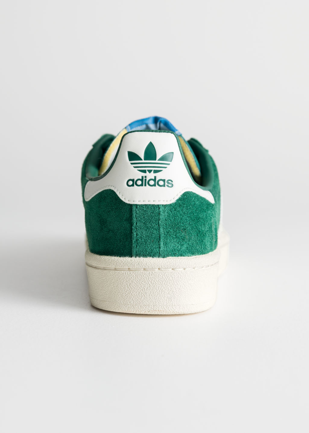 Back image of Stories adidas campus in green