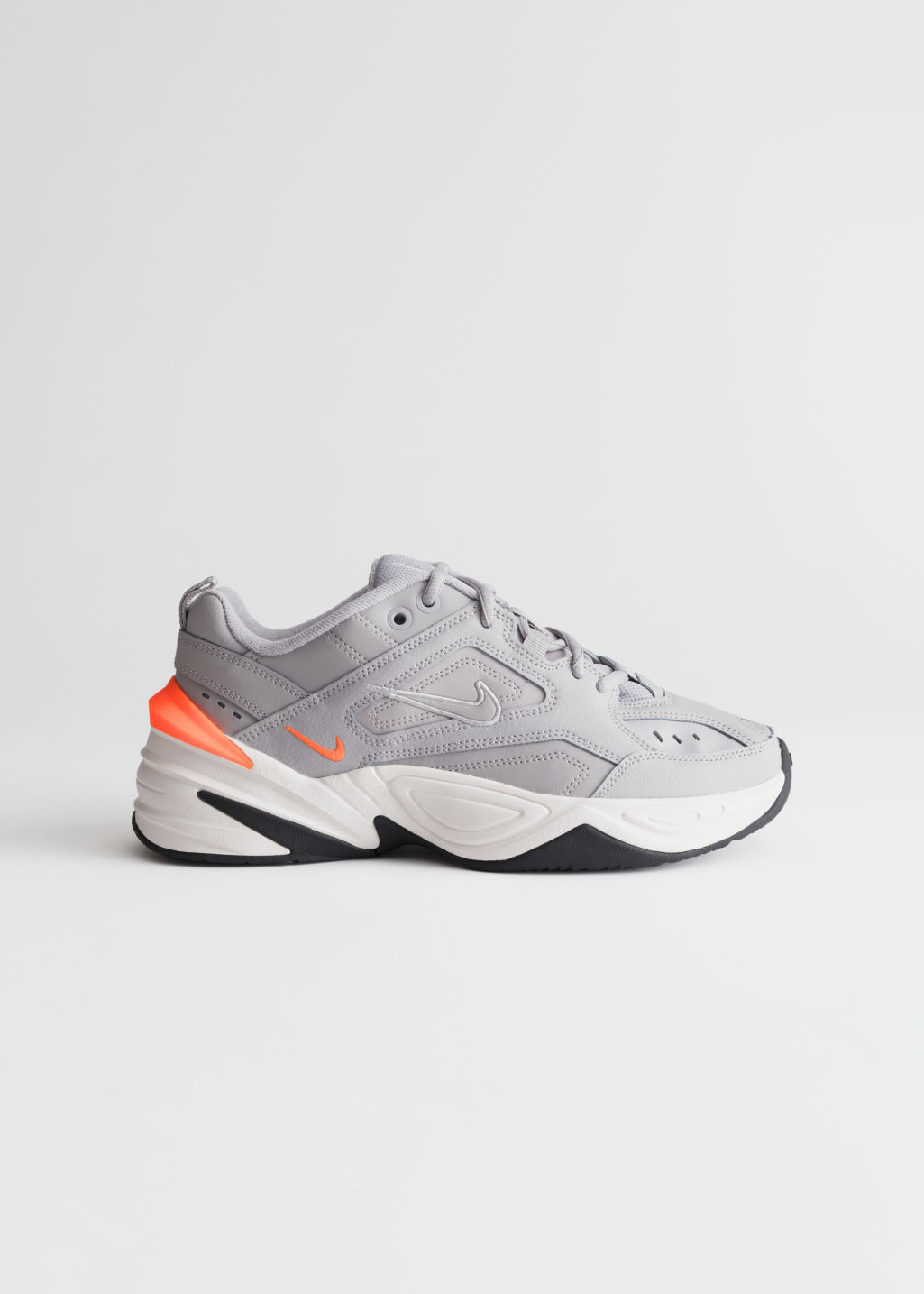Front image of Stories nike m2k tekno  in silver