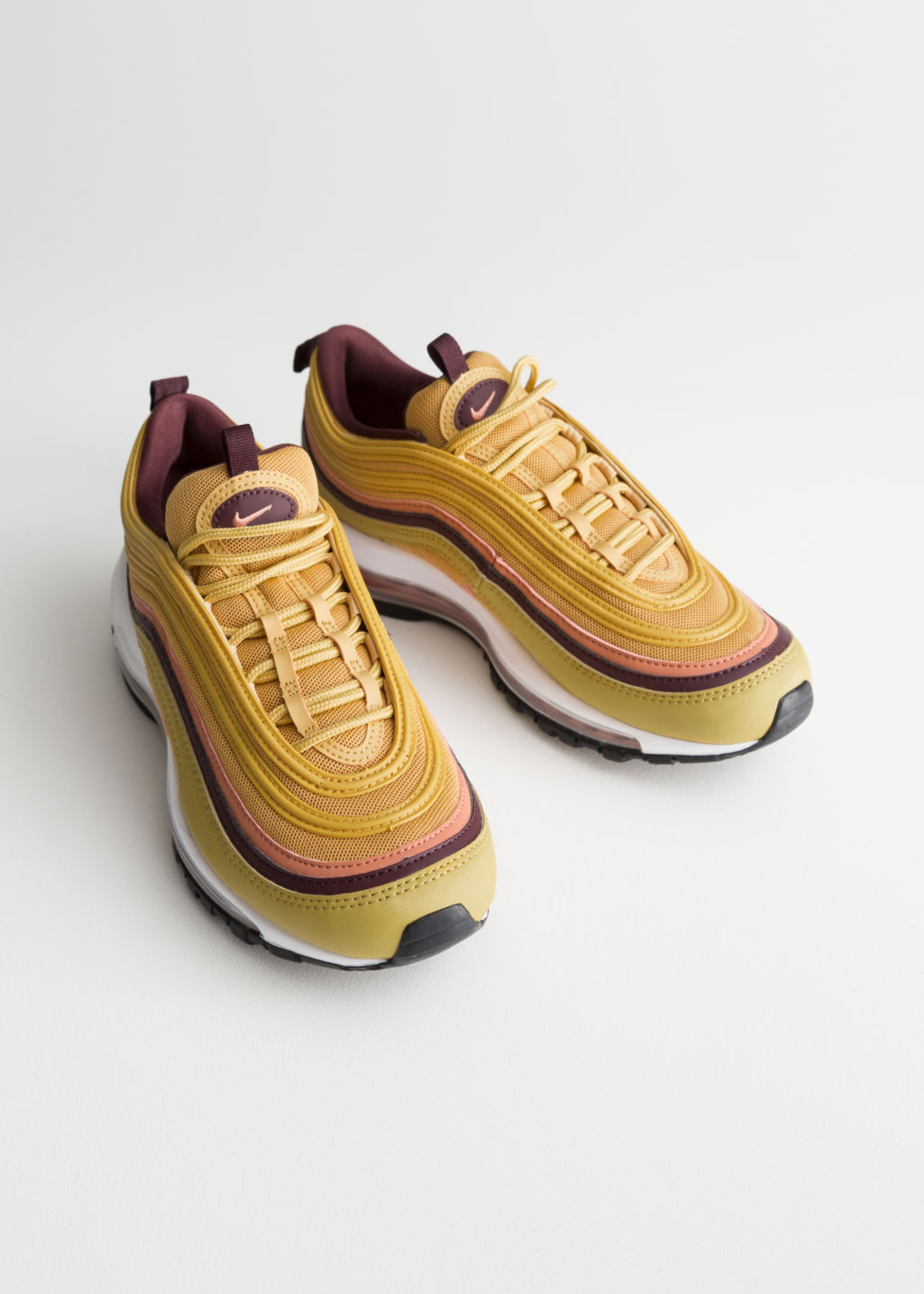 save off 10901 d9927 Back image of Stories nike air max 97 lea in orange ...