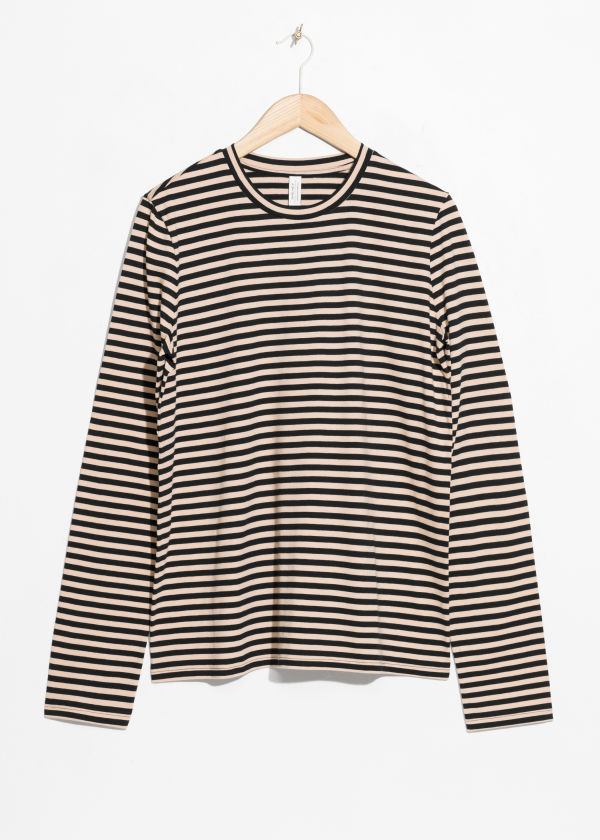 Losse Fit Stripe Shirt