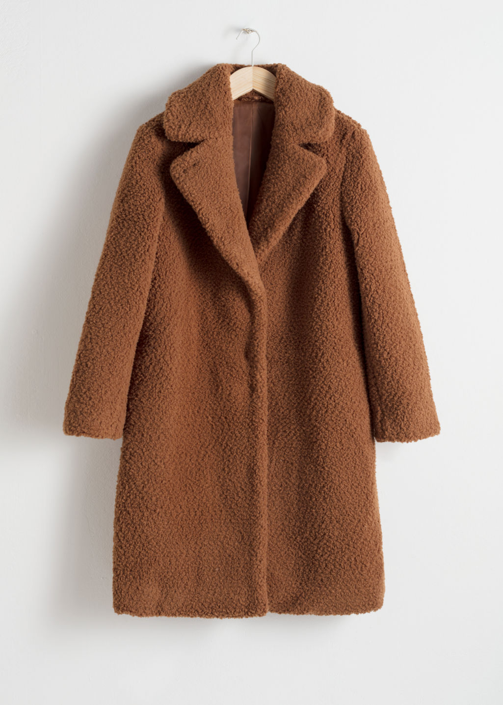 ad815cab Faux Shearling Teddy Coat - Camel - Fauxfur - & Other Stories