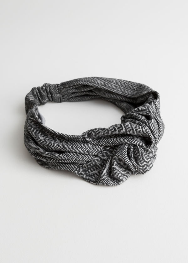 Herringbone Knot Headband