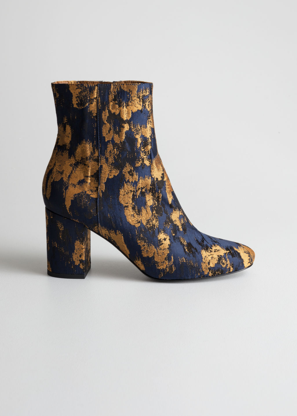 4490b76ffb8 Jacquard Ankle Boots - Blue - Ankleboots - & Other Stories