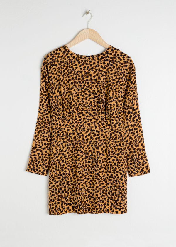 907741041 Leopard Print Dress - Leopard - Printed dresses - & Other Stories