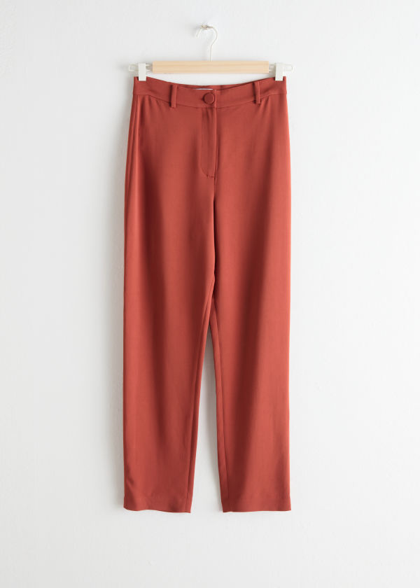 Tapered Stretch Trousers