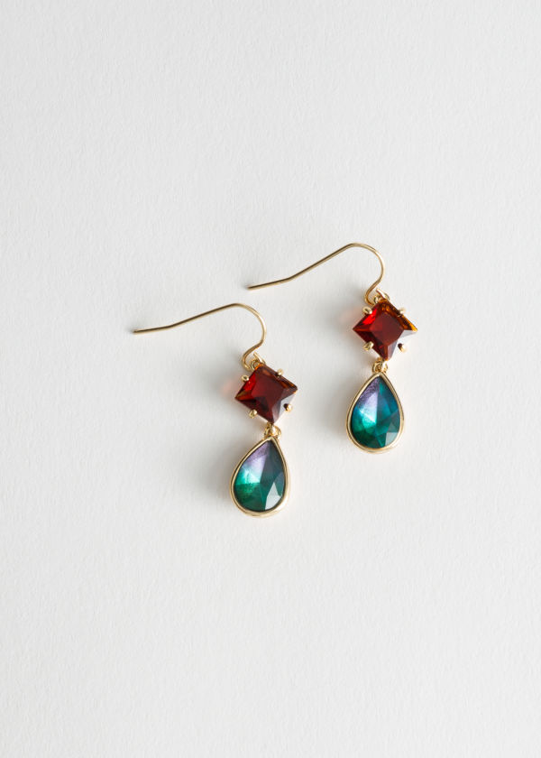 Rainbow Hanging Earrings