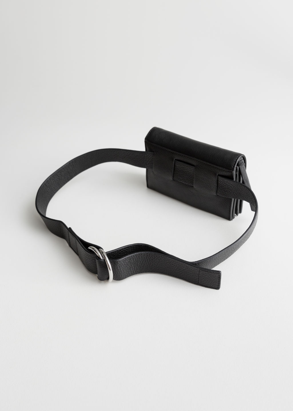 Back image of Stories duo d-ring beltbag in black