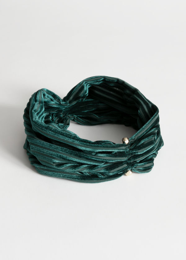 Velvet Stripe Hairband