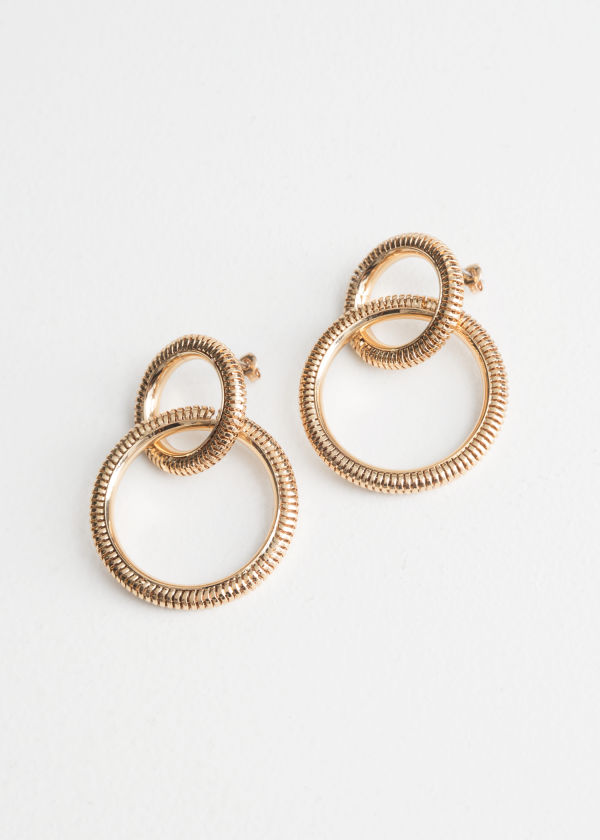 Snake Chain Hanging Earrings